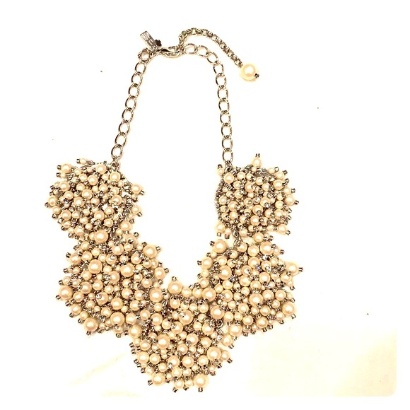 kate spade Jewelry - Kate Spade pearl bib necklace